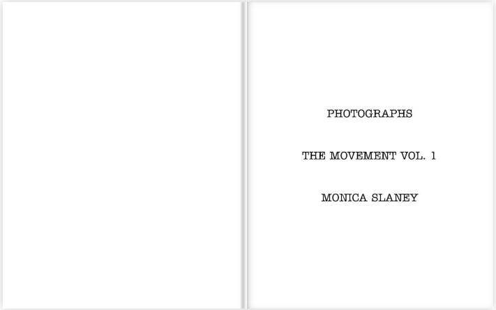 Photographs - The Movement Vol. 1   |  Monica Slaney