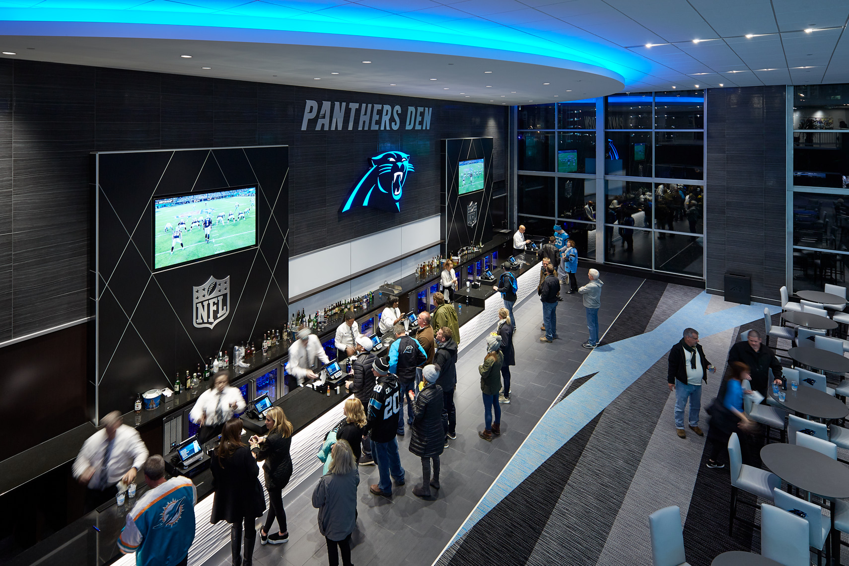 BOA Carolina Panthers Stadium, Charlotte NC - Wagner Murray Architects, Charlotte NC