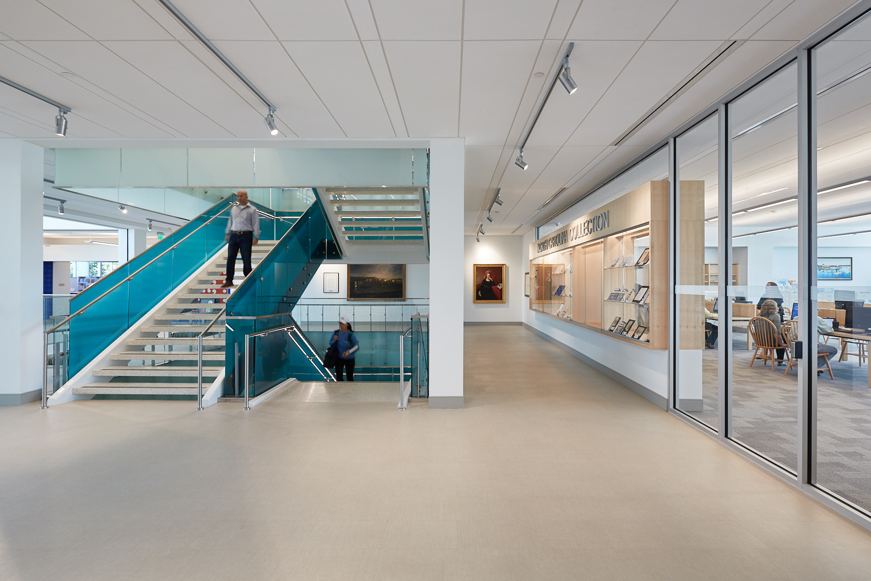 FCCL | Forsyth County Central Library, Winston-Salem NC - RATIO Architects, Raleigh NC