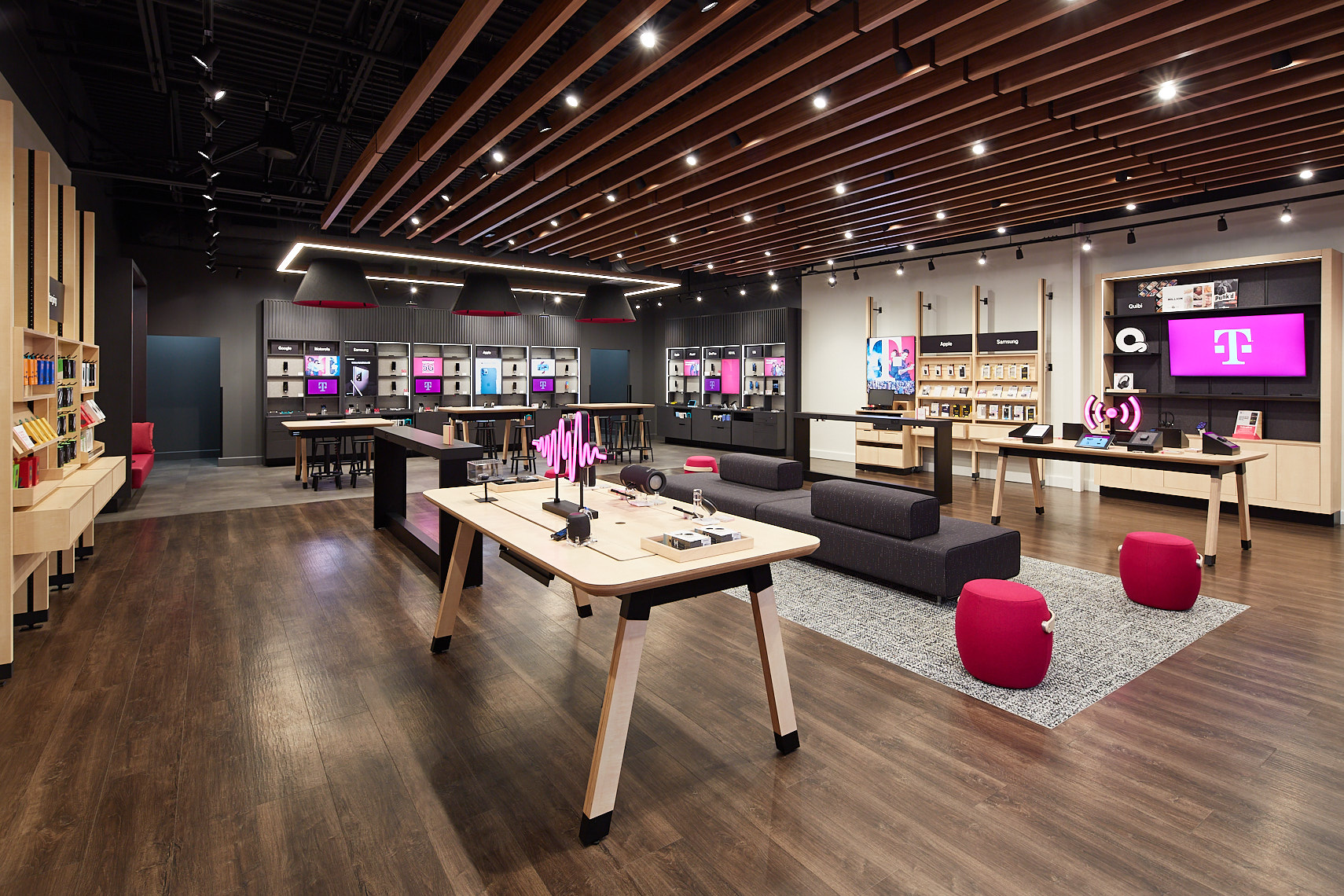 T Mobile,  Atlanta GA - IA Interior Architects, Seattle WA
